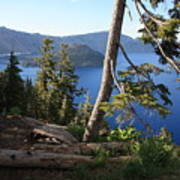 Crater Lake 9 Art Print