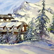 Crater Lake Lodge - Closed For Winter    Art Print