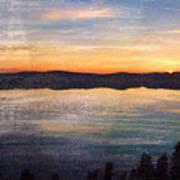 Crater Lake Sunrise Art Print