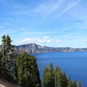 Crater Lake View  Art Print
