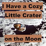 Crater1 Art Print
