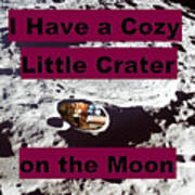 Crater11 Art Print