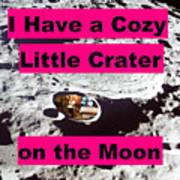 Crater12 Art Print