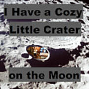 Crater14 Art Print