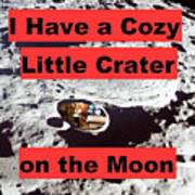 Crater15 Art Print