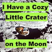 Crater18 Art Print
