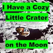 Crater19 Art Print