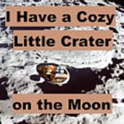 Crater26 Art Print
