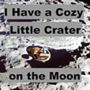 Crater27 Art Print