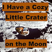 Crater34 Art Print