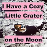 Crater38 Art Print