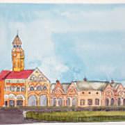 Crawford Market Mumbai Art Print