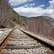 Crawford Notch State Park - Maine Central Railroad Art Print