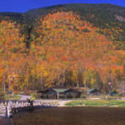 Crawford Notch Willey House Art Print