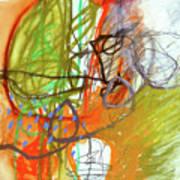 Crayon Scribble#3 Art Print