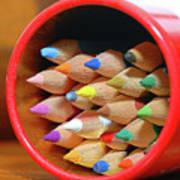Crayons Art Print by Graham Taylor
