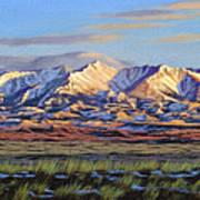 Crazy Mountains-Morning Art Print