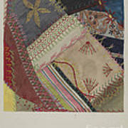 Crazy Quilt (detail) Art Print