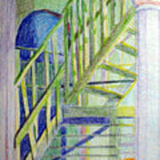 Crazy Steps Art Print