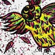 Crazybird Art Print