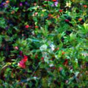 Crazyquilt Garden Art Print