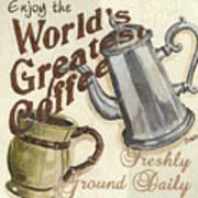 Cream Coffee 1 Art Print