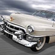 Cream Of The Crop - '53 Cadillac Art Print