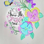Creation By Virgin Art Print