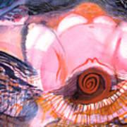Creative Power Of Maternal Goddess Energy Art Print
