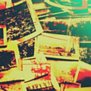 Creative Retro Film Photography Background Art Print