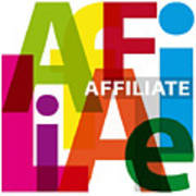Creative Title - Affilate Art Print