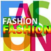 Creative Title - Fashion Art Print