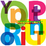 Creative Title - Opportunity Art Print