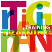 Creative Title - Training Art Print