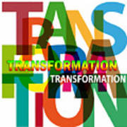 Creative Title - Transformation Art Print