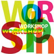 Creative Title - Workshop Art Print