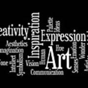 Creativity Art Inspiration Art Print