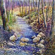 Creek Crossing Art Print