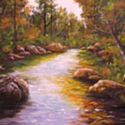 Creek Retreat Vii Art Print