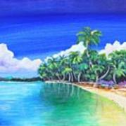 Crescent Beach Art Print