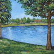 Crest Lake Park Art Print