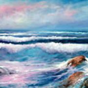 Cresting Waves Art Print