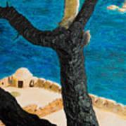 Crete Island Art Print