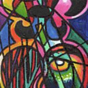 Creve Coeur Streetlight Banners Whimsical Motion 19 Art Print