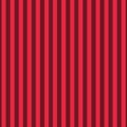 Crimson Red Striped Pattern Design Art Print