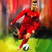 Cristiano Ronaldo 08a Art Print