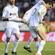 Cristiano Ronaldo 3 Art Print