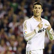 Cristiano Ronaldo 4 Art Print