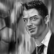 Cristiano Soccer Player 01 Art Print