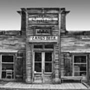 Criterion Hall Saloon -- Montana Territories Art Print